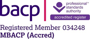 Registered member MBACP (Accred)
